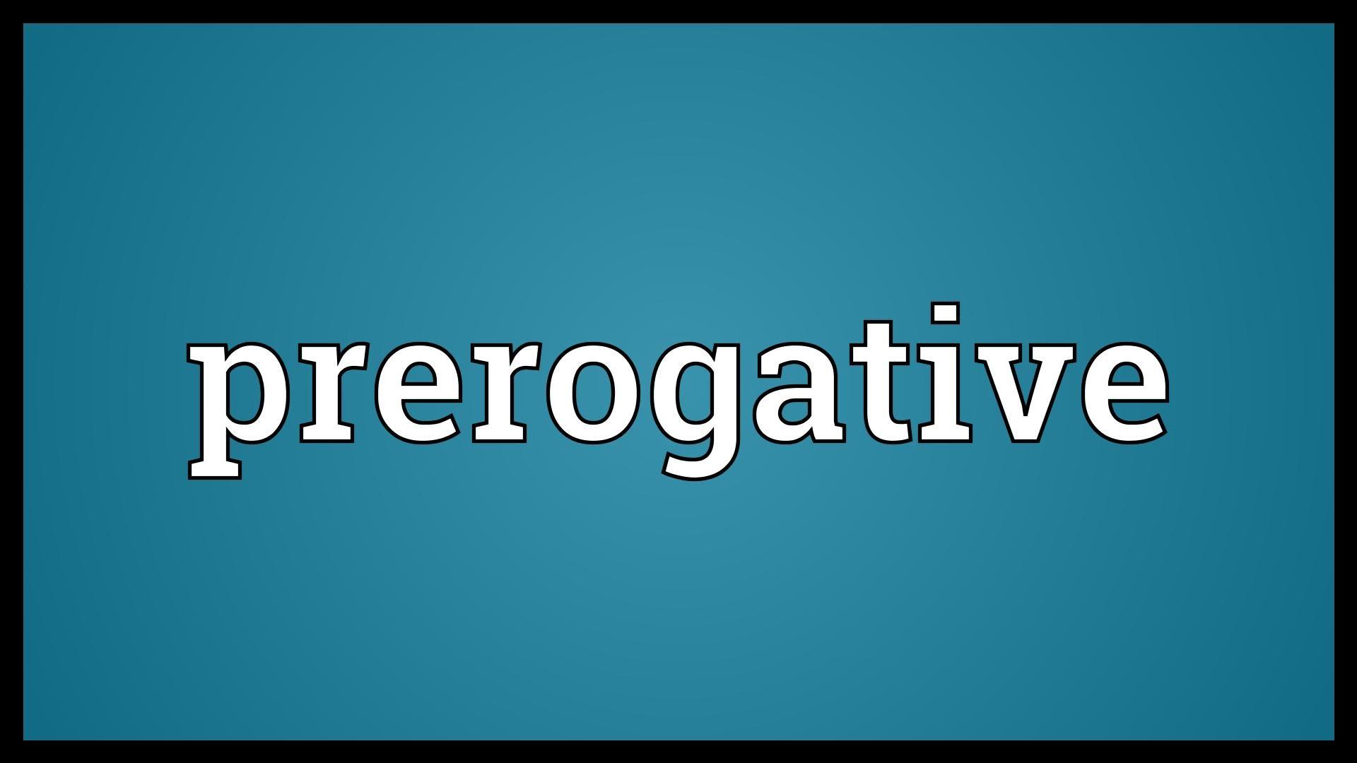 My Prerogative - Wikipedia
